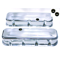 BIG BLOCK CHEVY TALL CHROME VALVE COVERS 396-502