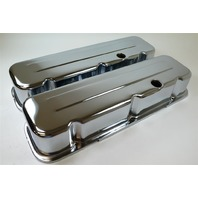 BIG BLOCK CHEVY SHORT CHROME VALVE COVERS 396-502