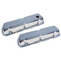 FORD SB VALVE COVERS MUSTANG 86-95 V8 5.0 5.0L CHROME