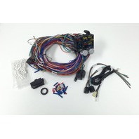 Universal 12v 24 Circuit 12 Fuse Wiring Harness Wire Kit V8 Rat Hot Rod GM