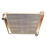 "Ford Universal Aluminum Radiator  24"" W/Mounting Holes"