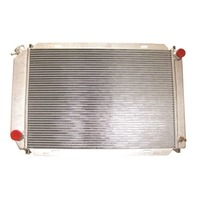 Ford Universal Stock Style Aluminum Radiator 20.25 X 17 X 2, Fox Body 1979-1993