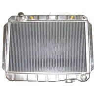 Chevy Universal Horizontal Flow Aluminum Radiator For Auto Trans 15.5 X 23.5