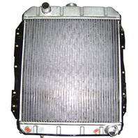 Chevy Universal Horizontal Flow Aluminum Radiator For Auto Trans 19.75 X 18.25