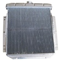 Ford Universal Horizontal Flow Aluminum Radiator For Auto Trans 21.1 X 18.8