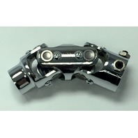 "Forged Steel Chrome Universal Double Steering U-Joint 1"" DD x 3/4"" DD"