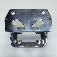 Smooth Polished Billet Aluminum Optima Battery Tray - Chevy/Ford/Mopar
