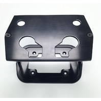 Smooth Black Billet Aluminum Optima Battery Tray - Chevy/Ford/Mopar
