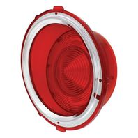 Tail Light Lens - Passenger/Right Side - Compatible with  Chevy Camaro 1970-1973