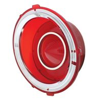Tail Light Lens, Driver/Left, Compatible with Chevy Camaro RS 1970-1973