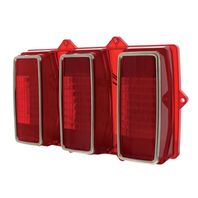 LED Sequential Tail Light, Right Or Left Hand Side, Fits 1969 Ford Mustang