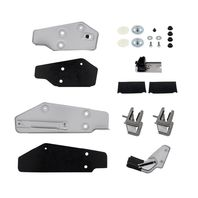 Door Glass Mounting Bracket & Guide Kit - 1969-70 Ford Mustang - Right Hand / Pa