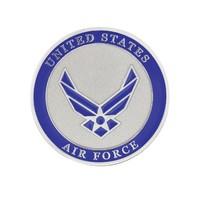 "U.S. Air Force Adhesive Metal Medallion - 1-3/4"" - Car Truck Exterior Emblem Hot"