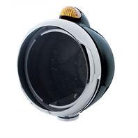 "UPI 32408 Black ""GUIDE""  Headlight - No Bulb w/Dual Function Amber LED/Amber Len"