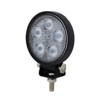 5 Led High Power Mini Round Work Light - Flood Light