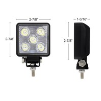 5 Led High Power Mini Round Work Light - Spot Light