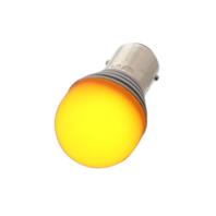 High Power 1157 LED Bulb - Amber  Hot Rat street Rod Motorcycle Off-Road Custom