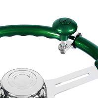 Heavy Duty Steering Wheel Spinner - Emerald Green