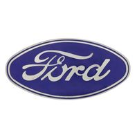 1928 - 1930 Model A Ford Radiator Shell Metal Emblem / Adhesive Mount