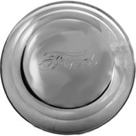 1941-42 Stainless Steel Ford Passenger Car & Pick-Up Truck Hub Cap