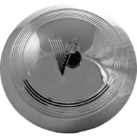 1940-41 Stainless Steel V8 Standard Car & Pick-Up Hub Cap