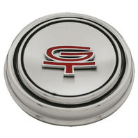"1967-68 Ford Mustang ""GT"" Hub Cap Stainless Steel w/ GT Emblem"