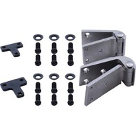 1932 Ford Closed Car Door Hinge Set, Right (Exc. 3W)