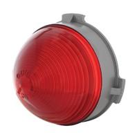 1953 Chevy Passenger Cars Center Tail Light Red Plastic Stop Lens