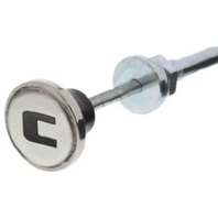 Choke Cable With Stainless Steel Knob, Compatible with Chevy Truck 1947-1953