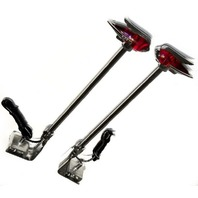 Vintage Style Hot Rod Red LED Fender Guide Marker Pair