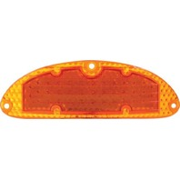 1955 Chevy Passenger Car Front LED Parking Lights, Amber Lens, EA