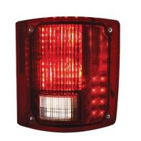 LED Sequential Tail Light W/O Trim, Passenger Side, Fits Chevy/GMC Truck 1973-87