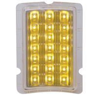 UPI FPL4001LED 1940 Ford LED Turn Signal and Parking Light - Amber LED