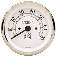 "VW BUG AIR COOLED, VDO COCKPIT ROYAL Tach, 7,000 RPM, 3 3/8"" 437750"