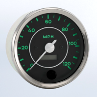 "VDO ""356"" 120MPH Speedometer Gauge For VW Dune Buggy Baja Bug Sand Rail"
