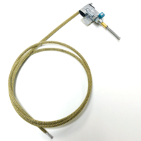 Sunroof Cable, Right with Flipper, Compatible with VW Type 1 Beetle 1964-1977