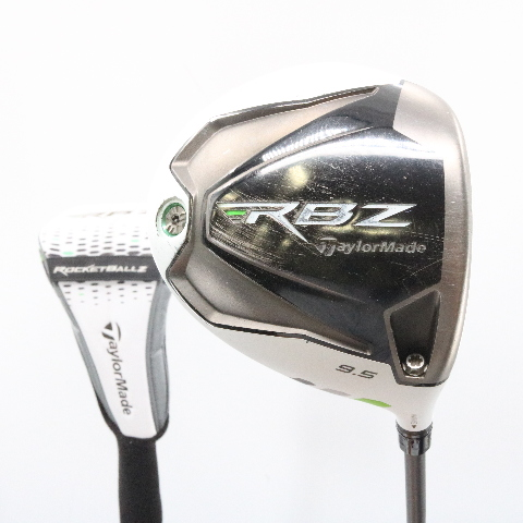 Taylormade Rocketballz Driver >> Details About Taylormade Rocketballz Rbz Driver 9 5 Deg Matrix Ozik Stiff Flex Headcover 58864