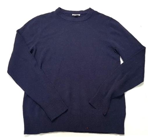 3555e1a2d18e Merona Mens Long Sleeved Crew Neck Pullover Knit Sweater Eggplant Purple XXL