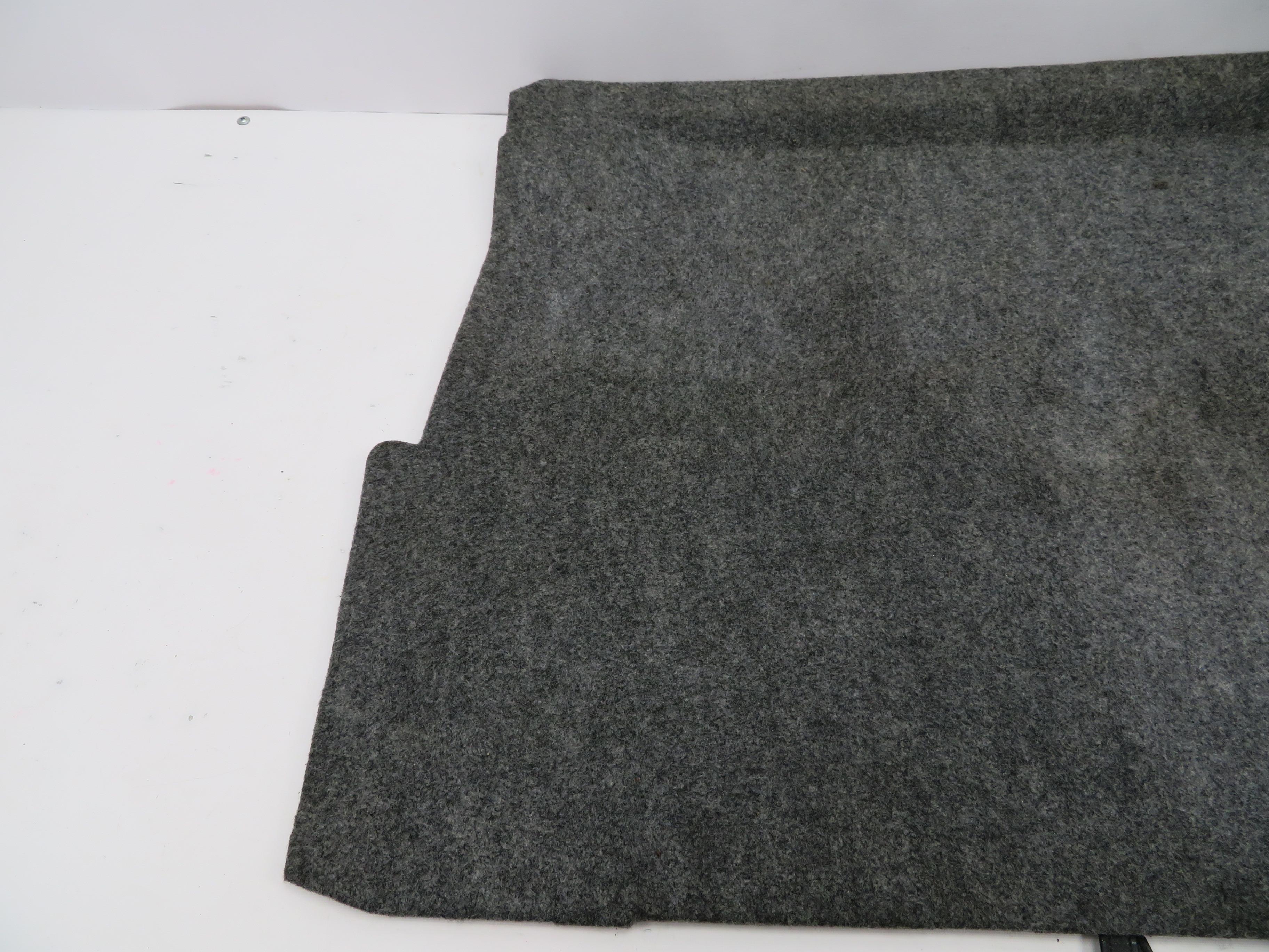 01 Bmw Z3 Roadster E36 1064 Trunk Floor Board Lining Carpet Mat