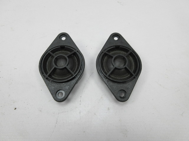 91-97 BMW 840ci 840i E31 #1051 Rear Shelf Speaker Tweeter Pair 65138375085