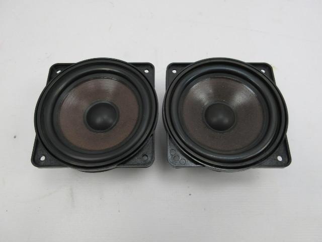 91-97 BMW 840ci 840i E31 #1053 Rear Parcel Shelf Speaker Pair 65131392381