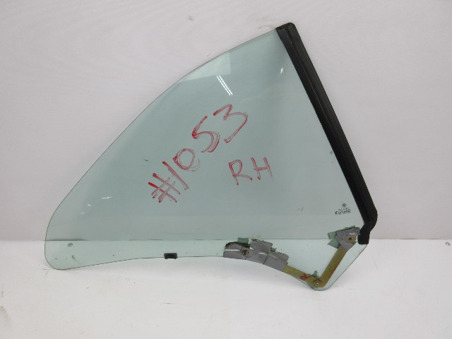 91-97 BMW 840ci 840i E31 #1053 Rear Quarter Window Glass, Right Passenger Side