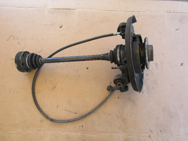 91-97 BMW 840ci 840i E31 #1053 Hub Knuckle Spindle & Axle, Right Rear