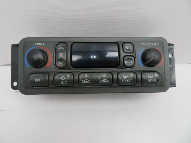 1997-2004 Chevrolet Corvette C5 A/C Heater Climate Control Unit 10345293