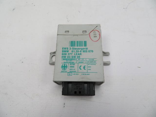 03 Mini Cooper S R50 R52 R53 #1060 Anti-Theft Alarm EWS 3 Control Module Unit