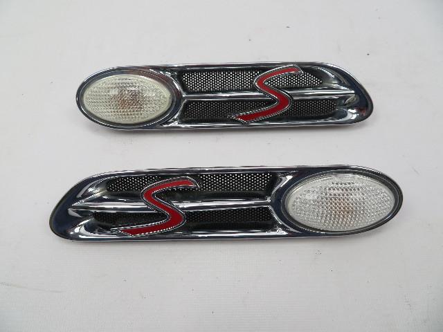 Mini Cooper S R50 R52 R53 #1060 Fender Grill Scuttle Turn Signal Pair Left Right