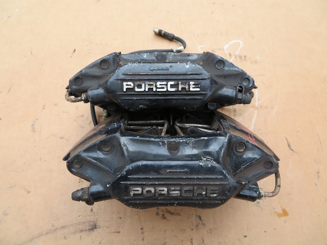 1987-1989 Porsche 928 S4 944 Turbo 951 #1061 Rear Brembo Brake Caliper Pair