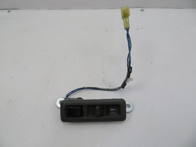 1986-1992 Toyota Supra MK3 #1062 Left Interior Door Lock/Unlock & Switch Grey