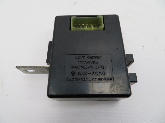 1986-1992 Toyota Supra MK3 #1062 Anti-Theft Alarm Control Unit Computer OEM