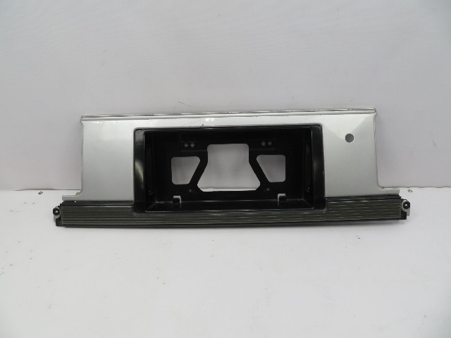 1986 Toyota Supra MK3 #1062 Exterior License Plate Mount Trunk Moulding Trim